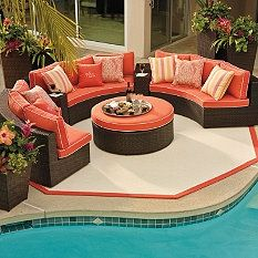 Frontgate Pasadena Outdoor Furniture Collection   Patio Furniture Sets