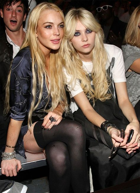 Lindsay Lohan ✾ Taylor Momsen ✾
