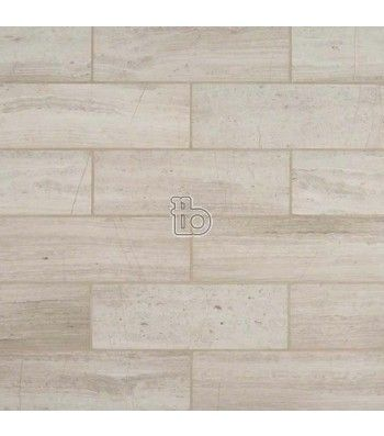 White Oak 4x12 Honed White Oak Oak Marble Tile Backsplash