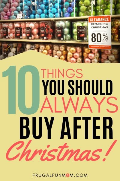 Best Day After Christmas Sales 2020 10 Things You Should ALWAYS Buy After Christmas in 2020 | After
