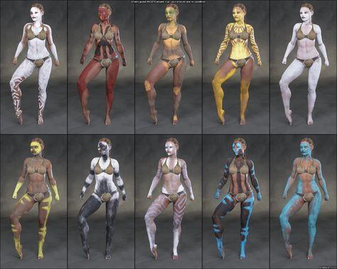 Aki Bodypaints Vol 2 for Genesis 8 Female(s) - DAZ 3D Models - 3D CG