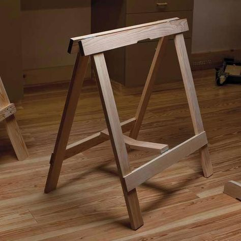 Buy Woodworking Project Paper Plan to Build Sawhorse Roundup at Woodcraft.com