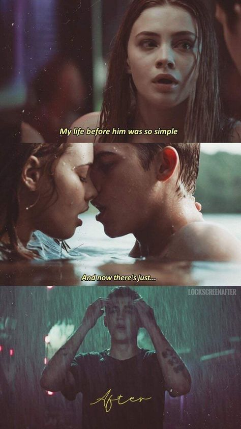 after movie I watched the movie After last night a - Film Quotes, Book Quotes, I Phone 7 Wallpaper, Book Wallpaper, Hardin After, Robert Pattinson, Romantic Movie Quotes, Hardin Scott, Hessa