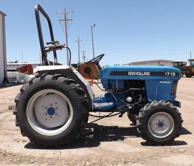 Ford New Holland 1715 Tractor Workshop Service Repair Manual Ford News Tractors New Holland