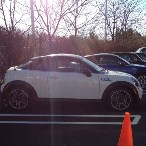 mini cooper s coupe.. you will be mine this year! :)