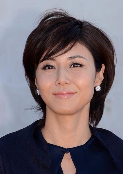 ショートボブ芸能人 40代のタレント女優をお手本にしよう 松嶋