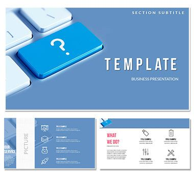 Questions And Answers Keynote Templates Keynote Template This