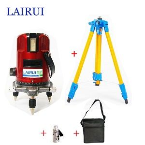 Us 62 37 Lairui 5 Lines 6 Points Laser Level 635nm 360 Degree Rotary Cross With Tilt 635nm Cross Degree Lairui Laser Level Lines Points R Dengan Gambar