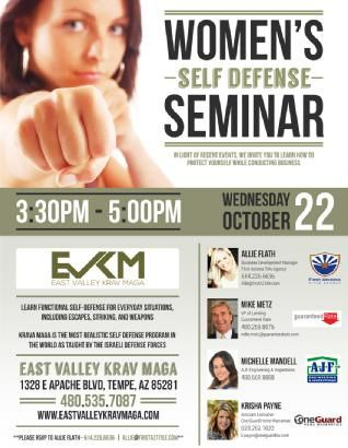 Allie-Flath---Womens-Self-Defense-Seminar-Flyer-2jpg Real - Seminar Flyer