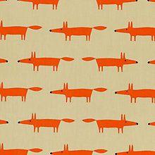 Buy Scion Mr Fox Mini PVC Tablecloth Fabric Online at johnlewis.com