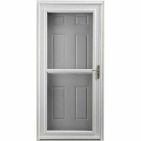 Larson In Stock Tradewinds Selection Storm Door Fits 32 In Or 36 In Opening With Images Aluminum Storm Doors Storm Door Lowes Home Improvements