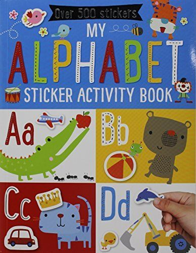 Crafts Hobbies Books For Sale Online At A Discount Bookoutlet Com Alphabet Stickers Book Activities Sticker Book