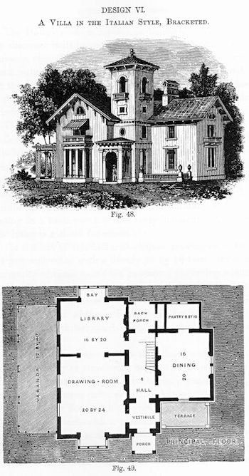 Victorian Italianate House Plans Awesome Italianate Architecture Definition History In 2020 Farmhouse Style House Plans Cape House Plans Beach House Plans