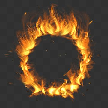 Fire Effect Superimposed On Fire Circle Effect Flame Yellow Lifelike Png Transparent Clipart Image And Psd File For Free Download In 2021 Light Background Images Fire Photography Lens Flare Effect