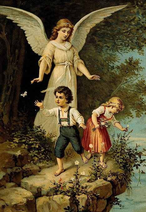 How a third of us believe a guardian angel is looking over us ...