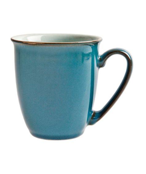 Buy Denby Everyday Set Of 4 Mugs Teal At Argoscouk