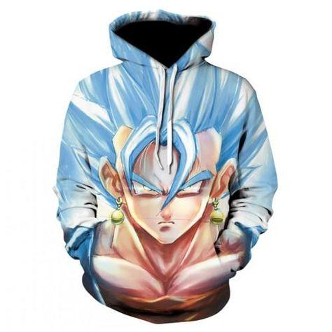 Super Saiyan Goku Hoodie Anime Hoodie Anime Sweatshirt Womens Sweatshirts Fashion