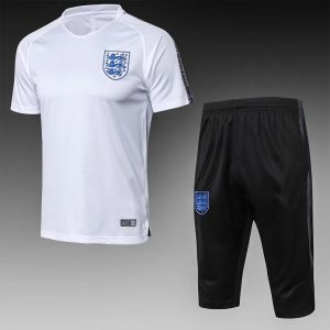 2018 World Cup Training Kit England Replica White Suit Cfc15 Soccer Outfits Sweater Sale Soccer