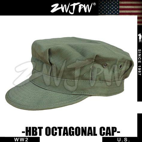 WW2 US ELITE ARMY GREEN HBT OCTAGONAL FIELD CAP MEN OUTDOOR TACTICAL SPORT  CLIMBING FISHING HAT US 401102 Review 320bda5fa2b8