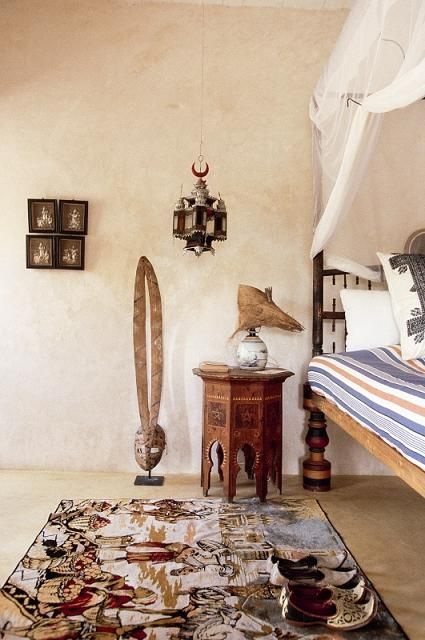 African Style In Interior Design Charming House In Kenya