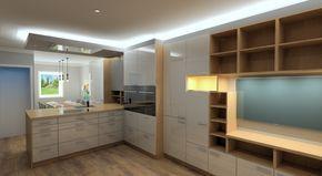 Moderne küchen mit halbinsel  Die besten 25+ Küchen halbinsel und insel Ideen auf Pinterest ...