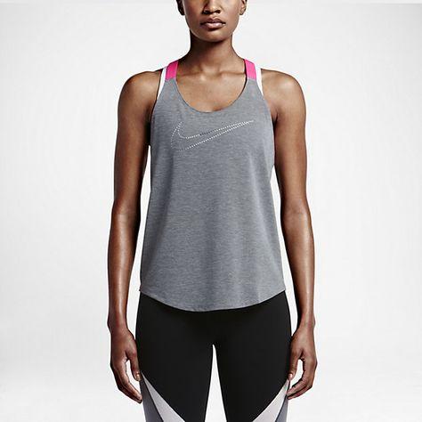 b36e881306aa8b Nike Elastika Keyhole Veneer Women s Training Tank Top