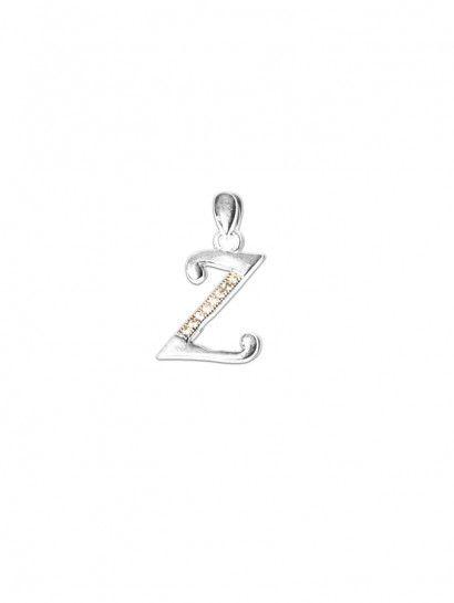 تعليقة فضة عيار 925 تعليقة فضة ايطالى حرف Z Enamel Pins Enamel Pins