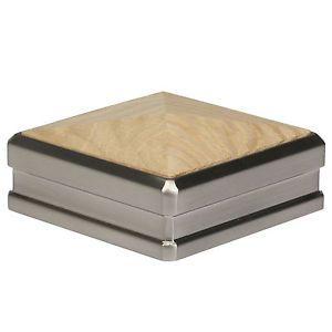 Solution Newel Cap 90mm Chrome Nickel Walnut Oak Hemlock White Primed Pine Ebay In 2020 Newel Post Caps Newel Posts Post Cap