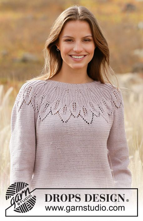 Listen To Nature Drops 213 1 Free Knitting Patterns By Drops
