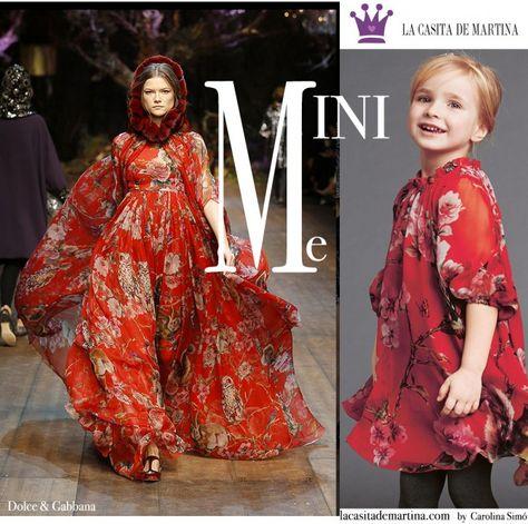 2b9afa763 ♥ Las versiones MINI ME de DOLCE   GABBANA moda infantil ♥