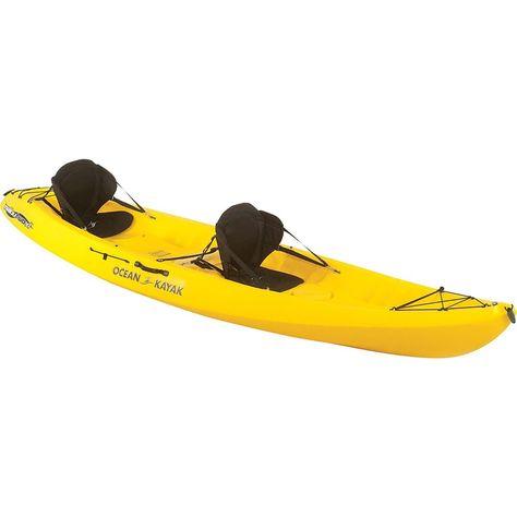 Amazon com : Ocean Kayak Malibu 2XL Tandem Kayak 2018-13ft4/Yellow