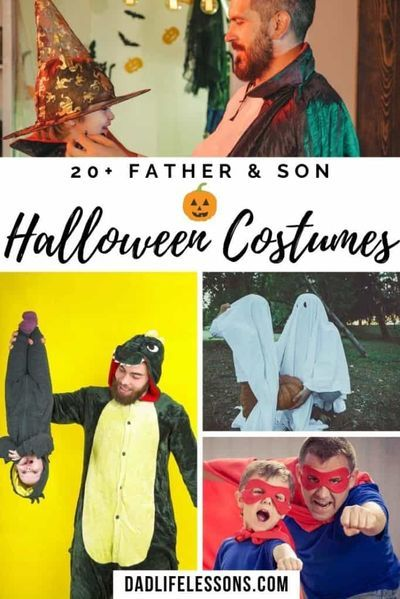 Halloween 2020 Father And Son 20+ Father & Son Halloween Costumes in 2020 | Father son halloween