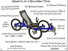 Benefits Of A Recumbent Trike Recumbent Bicycle Trike Powered Bicycle