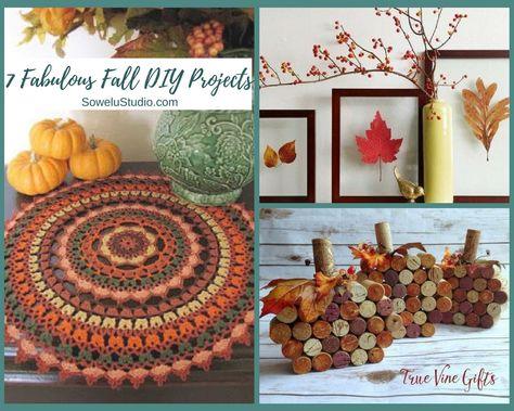 7 Fabulous Fall DIY Home Decor Projects – Sowelu Studio