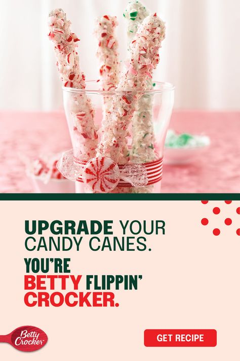 You could gift regular candy canes, or you could make something truly unforgettable. We know what you'll choose. These Peppermint Pretzel Canes combine sweet and salty flavors in a 4-ingredient recipe with a decadent finish that looks as pretty as it is delicious.
