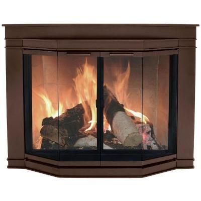 pleasant hearth fieldcrest extra small glass fireplace doors for rh pinterest com fieldcrest extra small glass fireplace doors