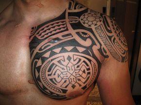 Tatouage Homme Epaule Pectoral Tatouage Tatouages Hommes Tatouage Tribal