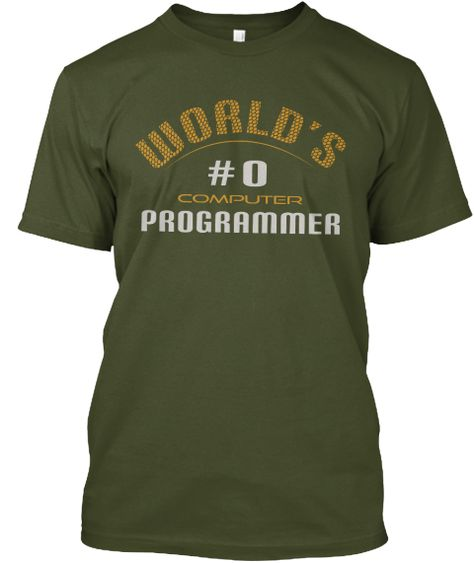 """""""World's #0 Computer Programmer""""-Funny & Humor Quote T-Shirt. World's #1 Computer Programmer is an insult. Be the best with this """" World's #0 Programmer""""  Counting starts from zero, not one. This is important in every programmers life. Programming Humor :)   #Programming #Programmer #Programmers #Coding #Coder #Coders #ComputerProgrammer #ProgrammingHumor #ProgrammingFun #Binary #BinaryTShirt #Geeky #Geek #Nerdy #Nerd #CodingFun #CodingHumor"""