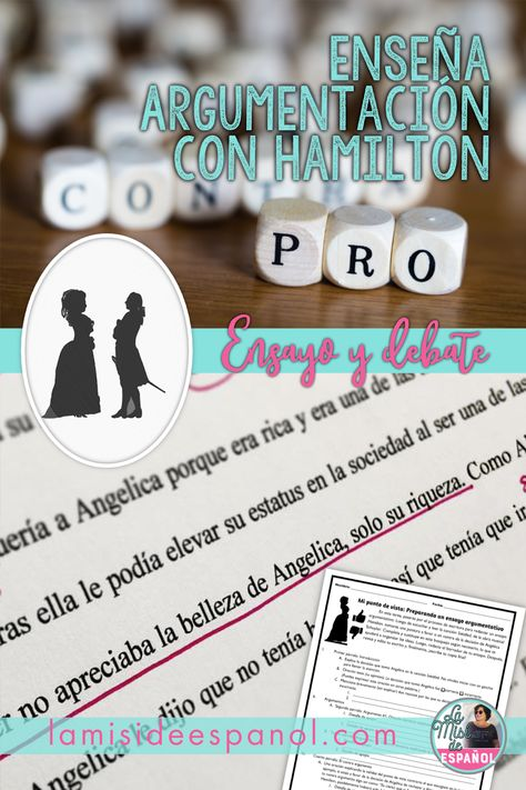 Engage Your Students with Argument Writing and Hamilton
