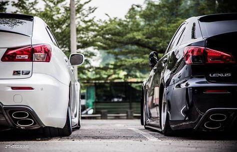 Twin lexus isf