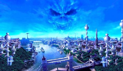 Wallpapers Hd De Iron Maiden Iron Maiden Brave New World
