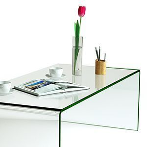 Don T Miss This Unique Glass Coffee Table From Tangkula The