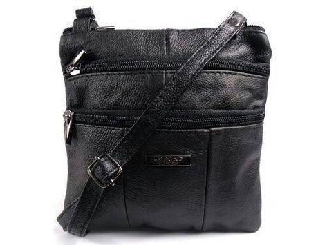 Lorenz Genuine Real Leather Lady Work School Satchel Messenger Shoulder Handbag