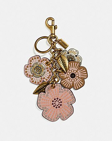 Gifts For Him Her Leather Flowers Diy Bag Charm Women S