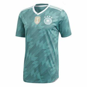 new concept b8299 aaa9f 2018 World Cup Jersey Germany Away Replica Green Shirt For ...
