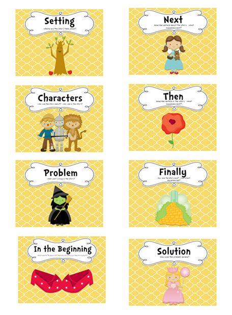 Follow the Yellow Brick Road Comprehension Activity - Looks Fun!!