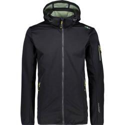 Cmp Herren Zip Hood Jacket, Größe 50 In Schwarz F.lli