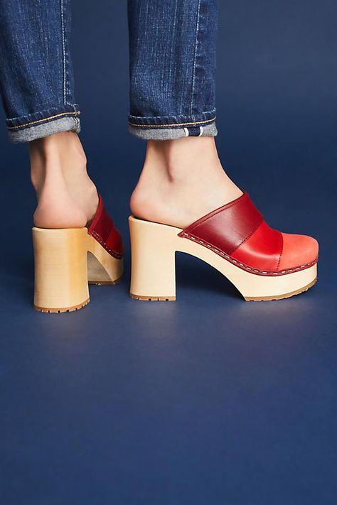 Lace Kitten Heels | Clogs, Western shoes, Thigh high boots heels