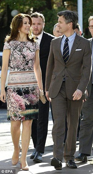 Crown Prince Frederik and Mary of Denmark day 2 in Japan 3/27/2015
