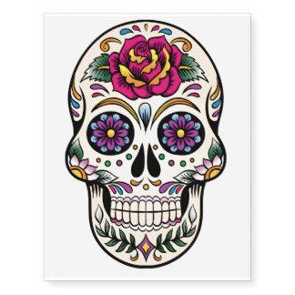 Image Result For Rose Sugar Skull Sugar Skull Tattoos Skull Painting Skull Art